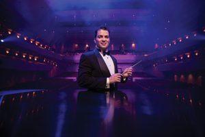 Signature Symphony at TCC's Music Director, ANDRÉS FRANCO