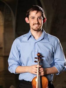 Signatue Symphony Violinist Corin Bodley